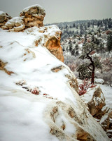 """Winter Ascent"" (Ute Valley, Colorado Springs)"