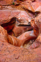Sandstone crevasse, Echo Canyon, Zion National Park