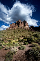 """Crescendo"" (Superstition Mountain, Tonto National Forest, Arizona)"