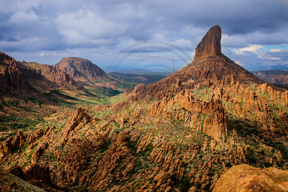 Weaver's Needle, Superstition Wilderness Area, Tonto National Forest, Arizona