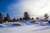 """Winter Shadows I"" (Ute Valley, Colorado Springs"