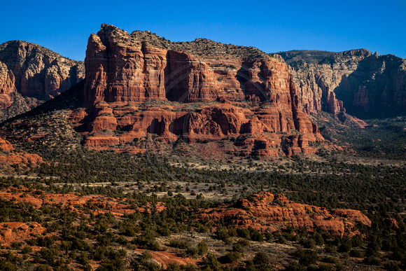 """High Desert Castles"" (Cathedral Rock, Sedona, Coconino National Forest, Arizona)"